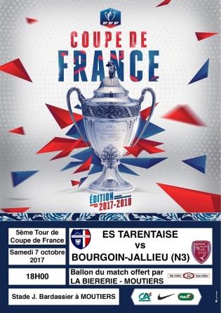 L'ES Tarentaise reçoit le FC Bourgoin-Jallieu ce samedi à Moutiers