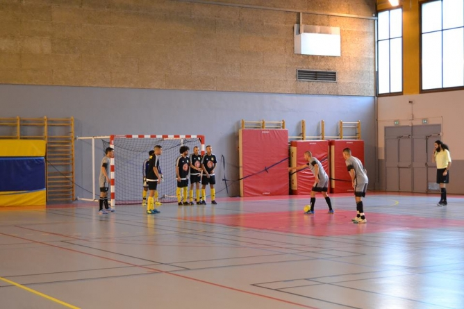 Après-midi réussie pour les équipes 2 et 3 du Futsal Lac d'Annecy