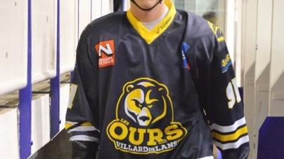 Oscar Conil (Ours Villard de Lans) indisponible pour plusieurs mois