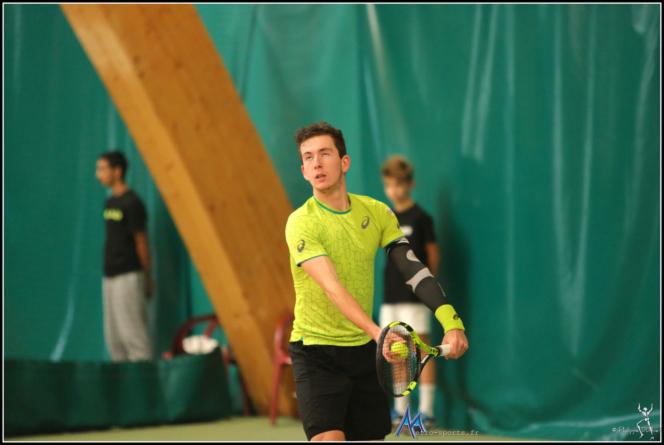 Corentin Denolly battu lors du 2e tour des qualifications de Roland-Garros