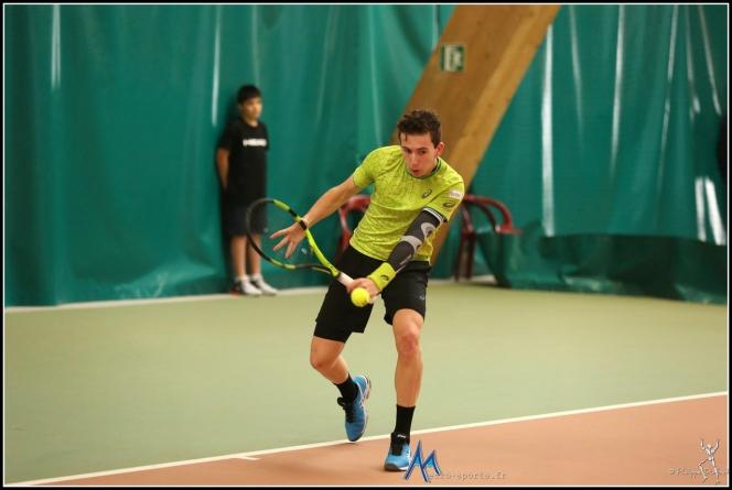 Corentin Denolly obtient une invitation pour les qualifications de Roland Garros !