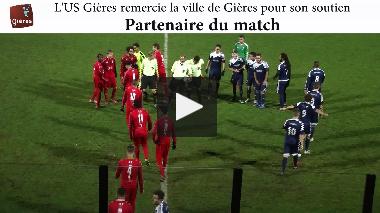 US Gières – DOMTAC FC : le résumé vidéo