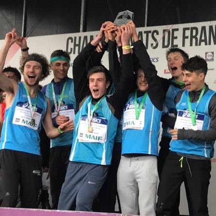 Un titre et des podiums pour l'EA Grenoble aux France de cross-country