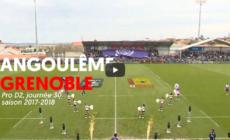 Angoulême – FC Grenoble : le résumé vidéo