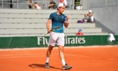 Corentin Denolly se qualifie pour le 2e tour des qualif' de Roland-Garros