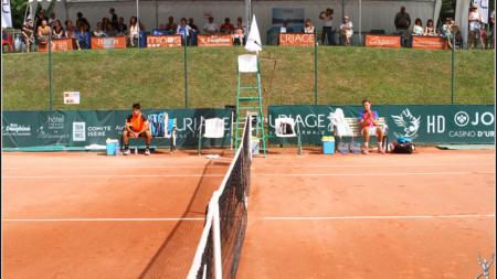 #Tennis – Uriage Eau Thermale 2019 : résultats et programme du jeudi 18 juillet