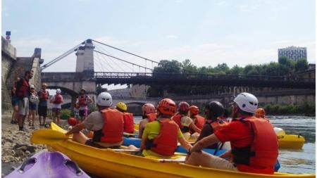L'Aviron Grenoblois met en place plusieurs activités cet été