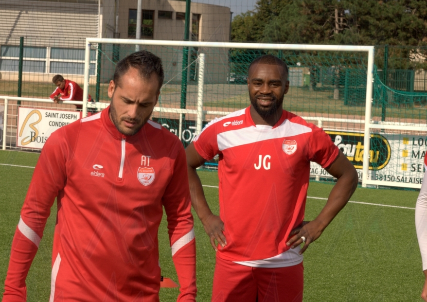 Ange-Kevin Mavitidi (FC Salaise) : «Repartir de l'avant»
