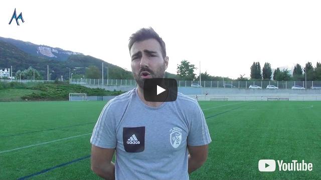Grégory Bardaro (AC Seyssinet) : «Satisfaisant pour un 1er match»