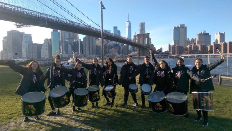 La troupe BatukaVI est à New-York