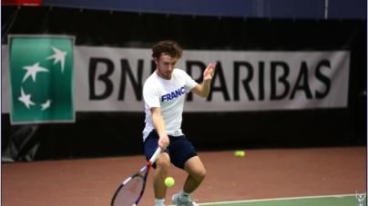 Reportage sur l'équipe de France de tennis lors du Master'U BNP Paribas 2018