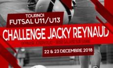 6ème édition Challenge Jacky REYNAUD les 22 et 23 décembre prochains