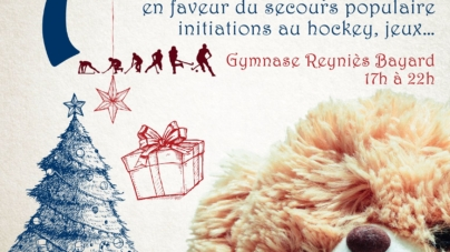 Collecte de jouets par le Grenoble Hockey Club ce samedi