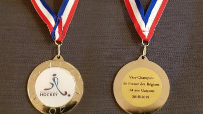 Hockey sur gazon : Des jeunes grenoblois vice-champions de France U14