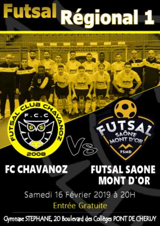 R1 Futsal – Un choc au menu de la 12ème journée