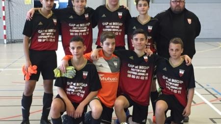 Coupe de L'Isère : qualification pour la finale des U15 du 2 Rochers FC