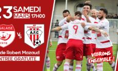 Salaise reçoit Aix FC ce samedi 23 mars
