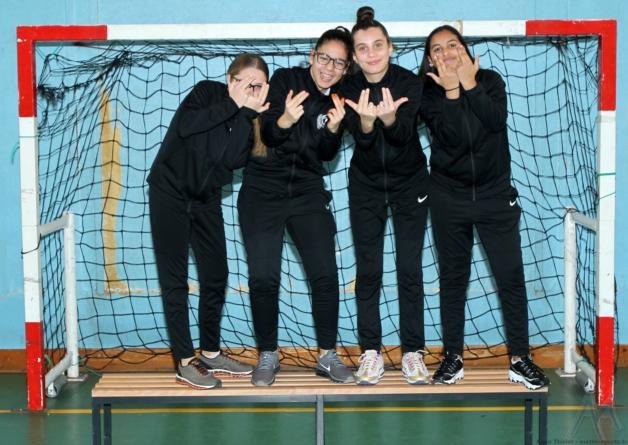 [Futsal] L'équipe féminine des Géants intègre un championnat national