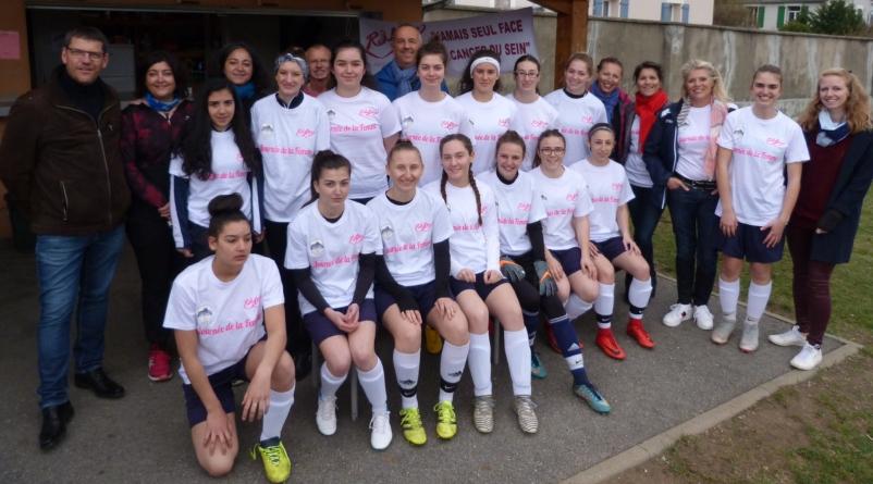Partenariat FC Sud Isère – Association Rose-Altitude