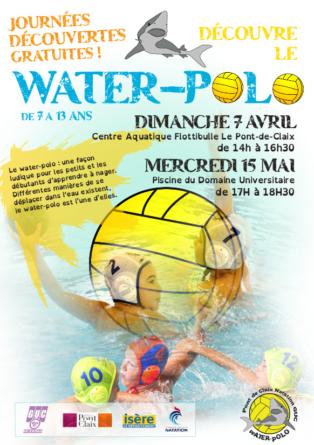 Journées portes ouvertes du Pont-de-Claix GUC Water-Polo