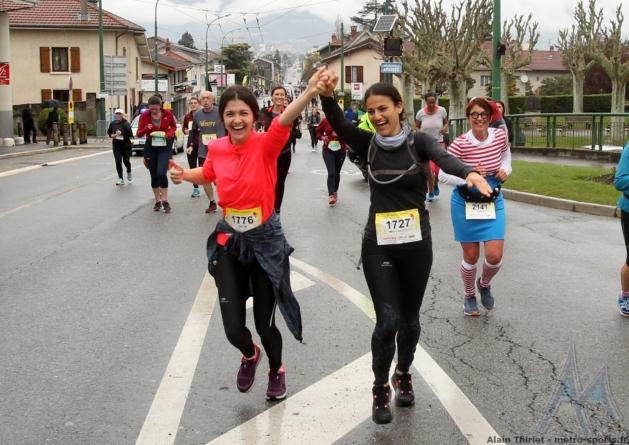 Les photos du Grenoble – Vizille à Eybens