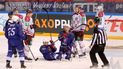 Nouvelle défaite pour l'équipe de France de hockey-sur-glace