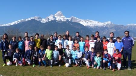 Le FC Sud Isère au rythme de son traditionnel stage Fabrice Marchiol cette semaine