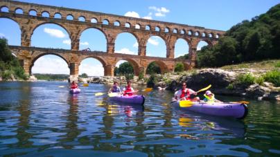 Un autre regard sur le Pont du Gard