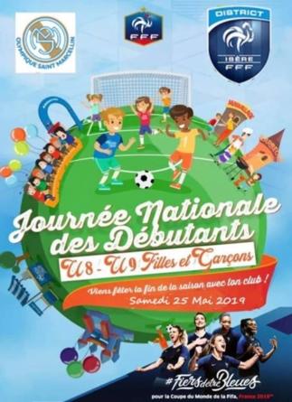 L'Olympique Saint-Marcellin et la Banque Alimentaire s'associent lors de la journée des débutants