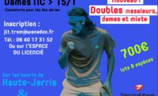 #Tennis – L'Open de Jarrie-Brié aura lieu du 21 juin au 7 juillet