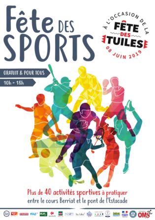La Fête des Sports de l'OMS s'invite à la Fête des Tuiles de Grenoble