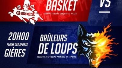 Les Brûleurs de Loups défiés… au basket par l'équipe de Gières