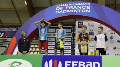 #Badminton – France Jeunes 2019 : 13 médailles pour la Ligue Auvergne Rhône-Alpes