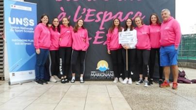 L'équipe de volley féminin M15 du Collège de Varces vice-championne de France UNSS