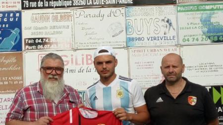 Un retour au Football Côte Saint-André