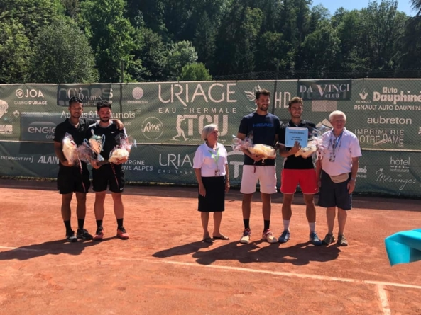 ITF Uriage Eau Thermale 2019 : Antoine Fouche et Mick Lescure remportent le double