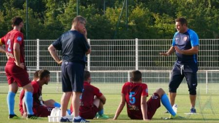 FC Bourgoin-Jallieu : le groupe contre Rumilly Vallières