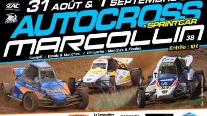 Marcollin accueillera la 8ème manche du Challenge SEAC (Sud-Est Autocross) les 31 août et 1er septembre