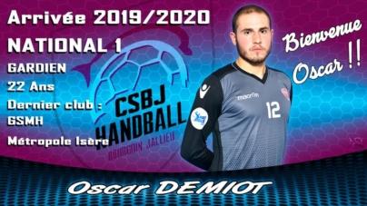Des nouvelles recrues au CSBJ Handball