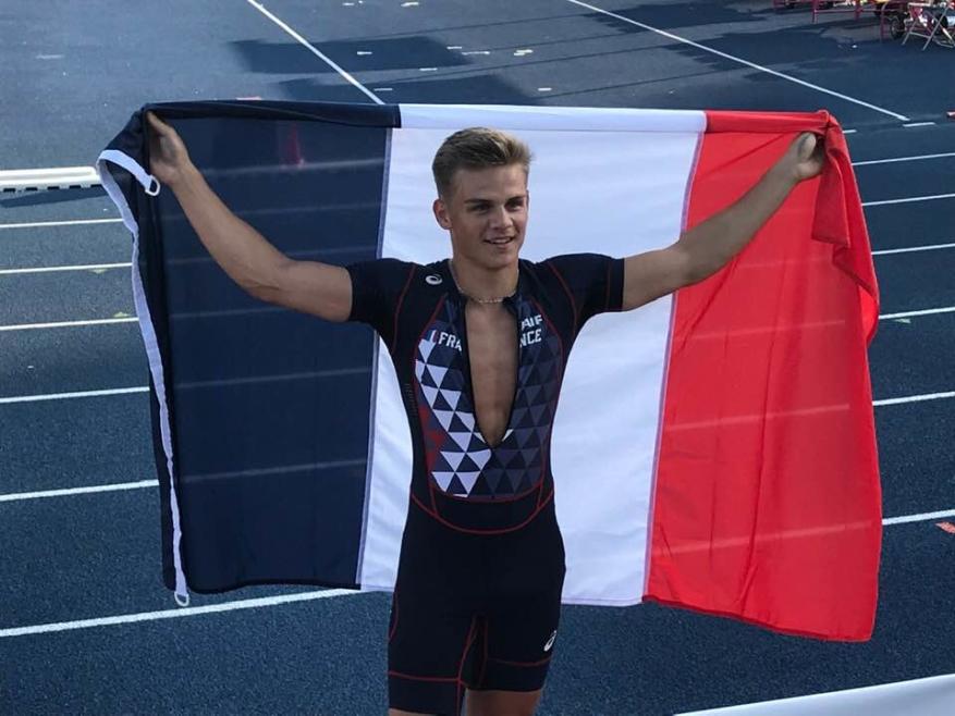 Thibaut Collet ramène le bronze des championnats d'Europe !