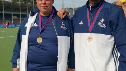 Deux joueurs du HC Grenoble en équipe de France de hockey-sur-gazon adapté
