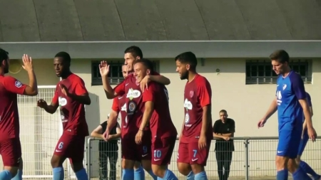 FC Bourgoin-Jallieu : le groupe contre Chambéry
