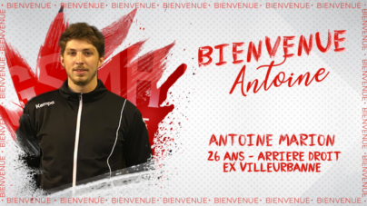 L'arrière droit Antoine Marion rejoint le GSMH38
