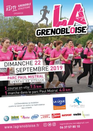 La Grenobloise : faites du sport tout en étant solidaires !