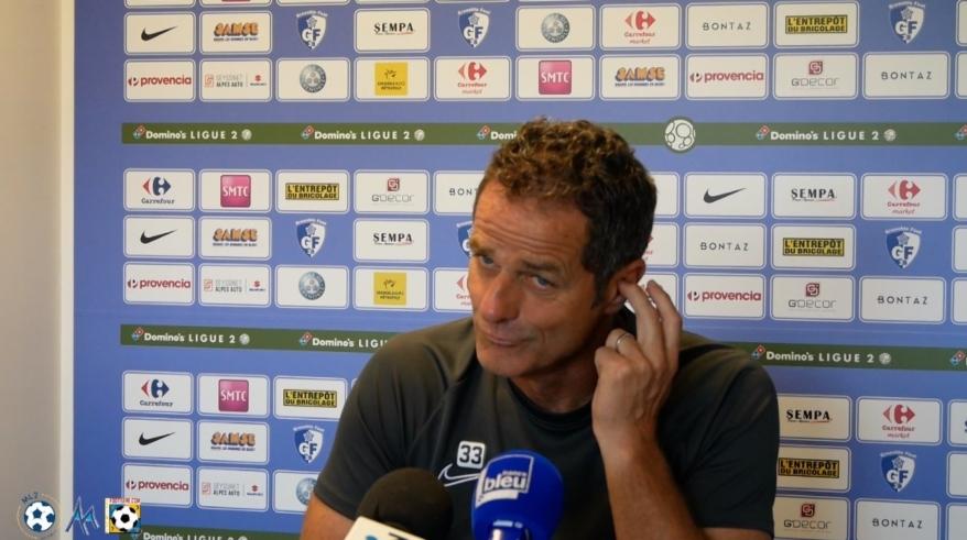 L'interview de Philippe Hinschberger avant Niort – GF38