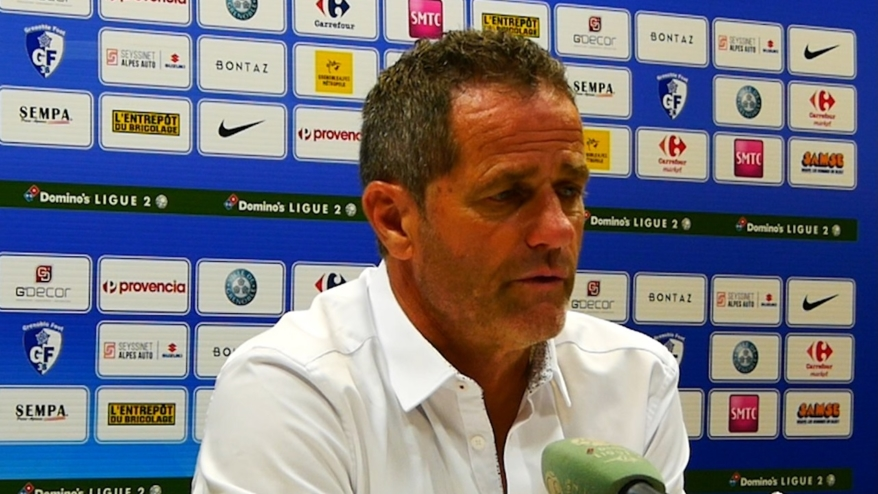 La réaction de Philippe Hinschberger après GF38 – Caen (1-0)