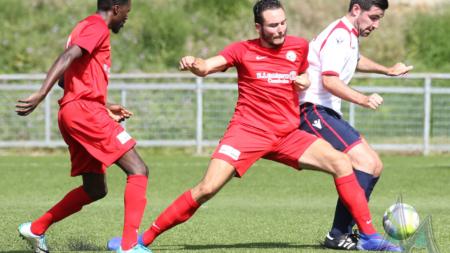 Le FC Échirolles s'incline à Rhône Vallées