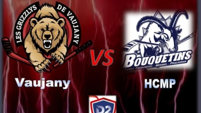 #HockeyD2 – Les Grizzlys de Vaujany reçoivent le HCMP ce samedi