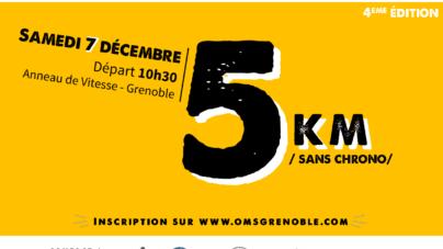 Courez pour les 5 km du Téléthon de l'OMS le samedi 7 décembre !