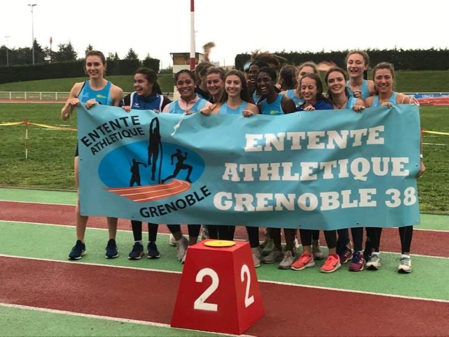 Finale des Interclubs nationaux jeunes : l'argent pour les Grenobloises